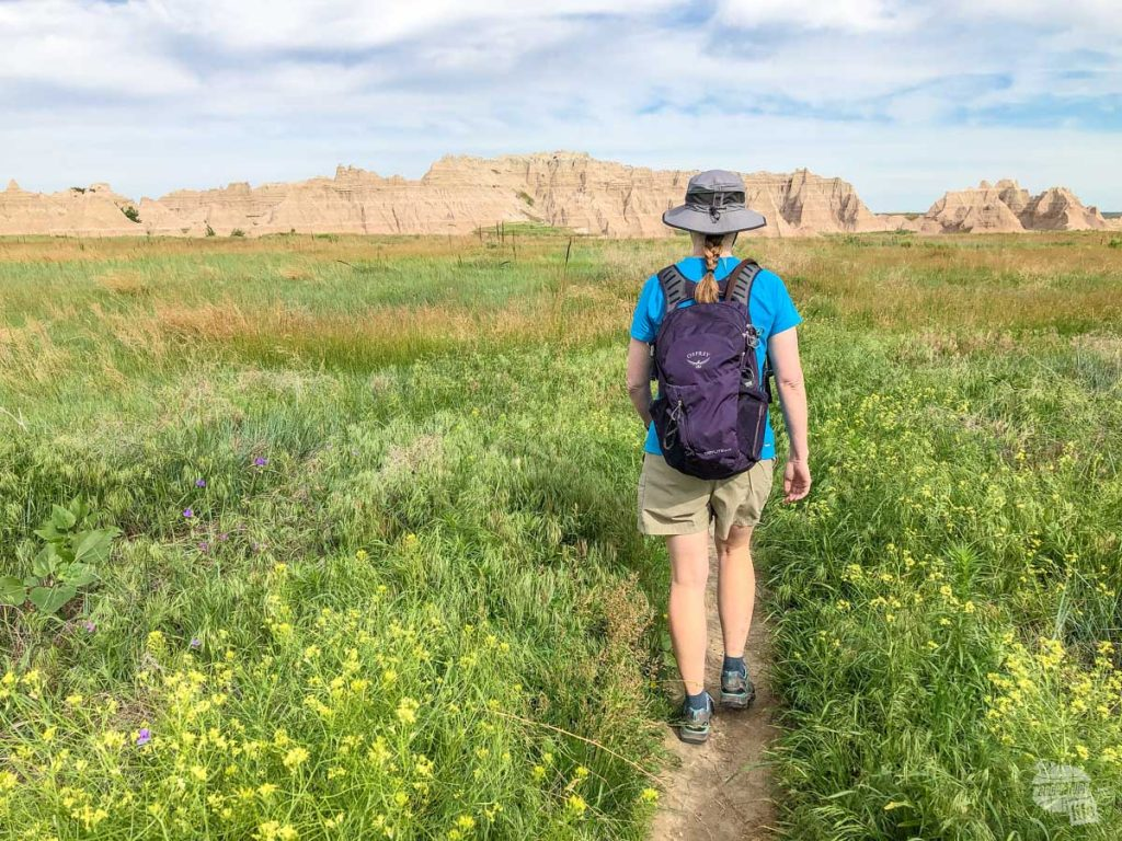If you have the time, a hike is a great thing to do while visiting Badlands National Park.