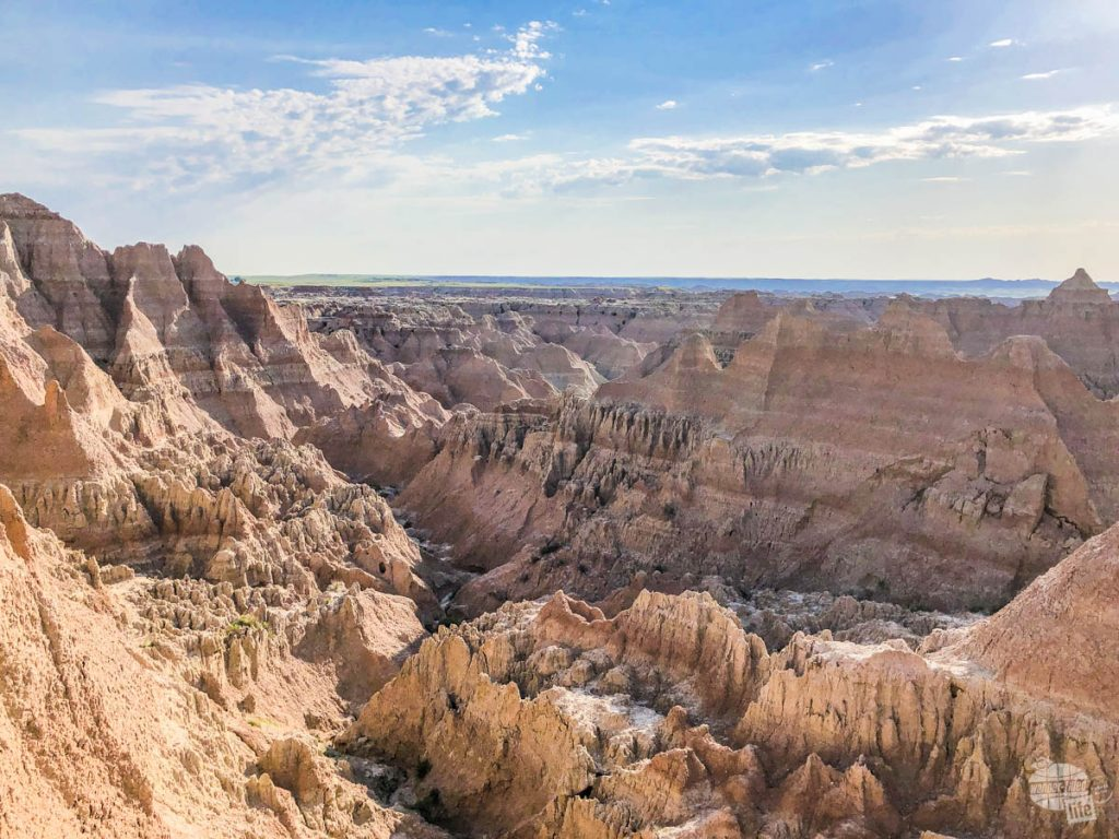 "A stop at the Window ""trail"" is a must when visiting Badlands National Park."
