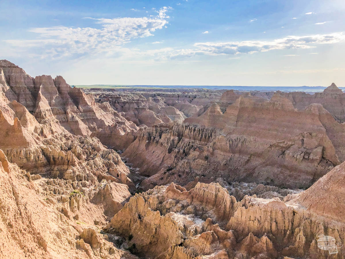 """A stop at the Window """"trail"""" is a must when visiting Badlands National Park."""