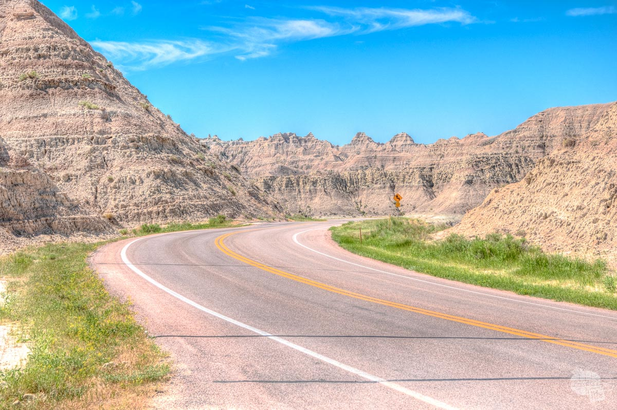You absolutely must drive the scenic loop road when visiting Badlands National Park.