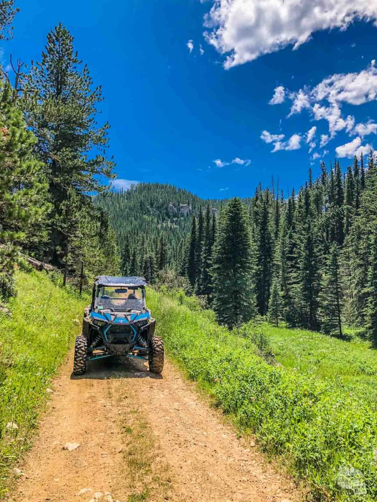 Renting an ATV in the Black Hills is so much fun!
