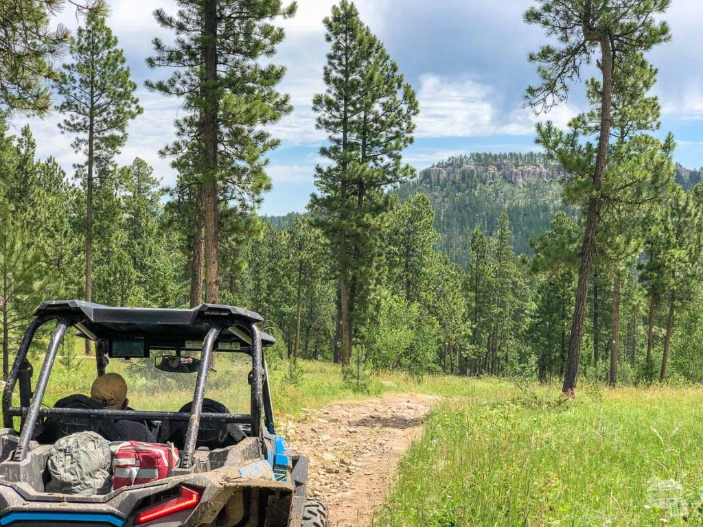 Be sure to bring a cooler along for your ATV adventure.