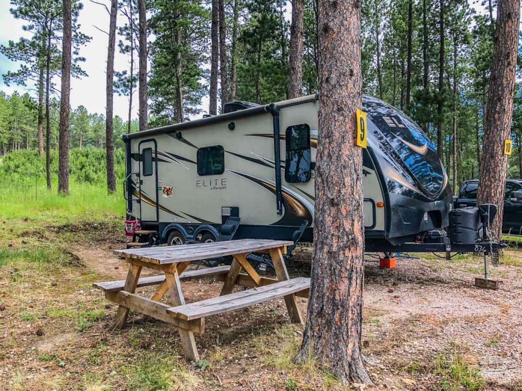 Camping proved to be a great way to travel in 2020.