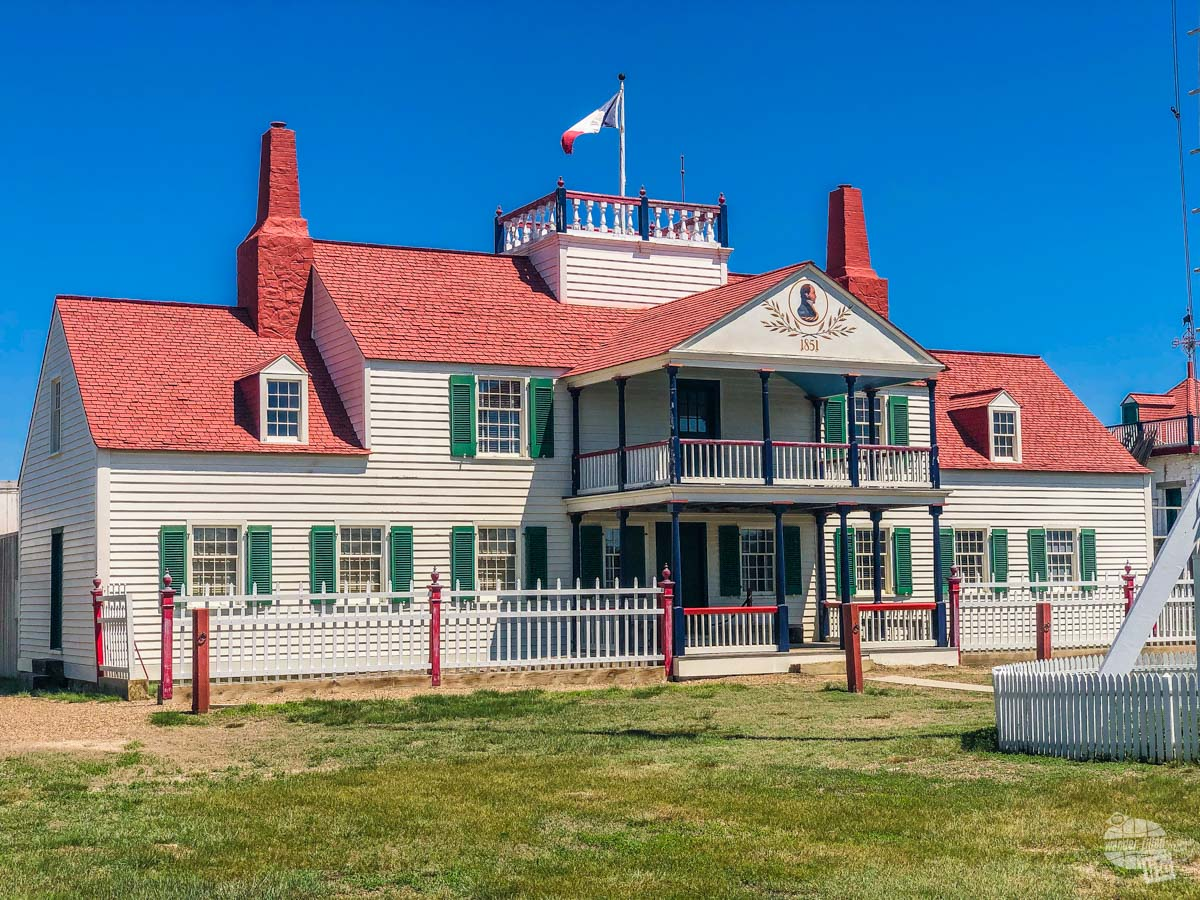 The Fort Union Trading Post NHS is a quick stop on your North Dakota national parks road trip.