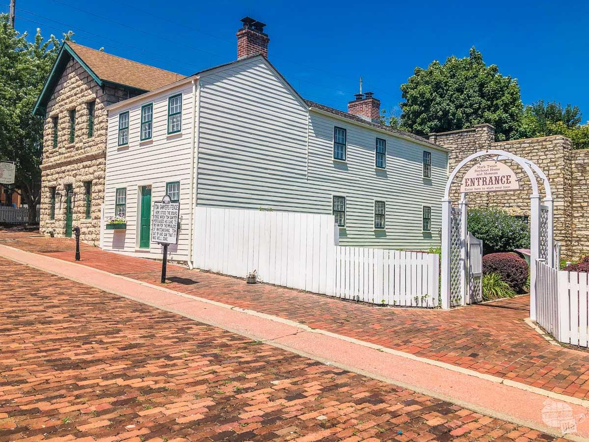 Mark Twain's boyhood home