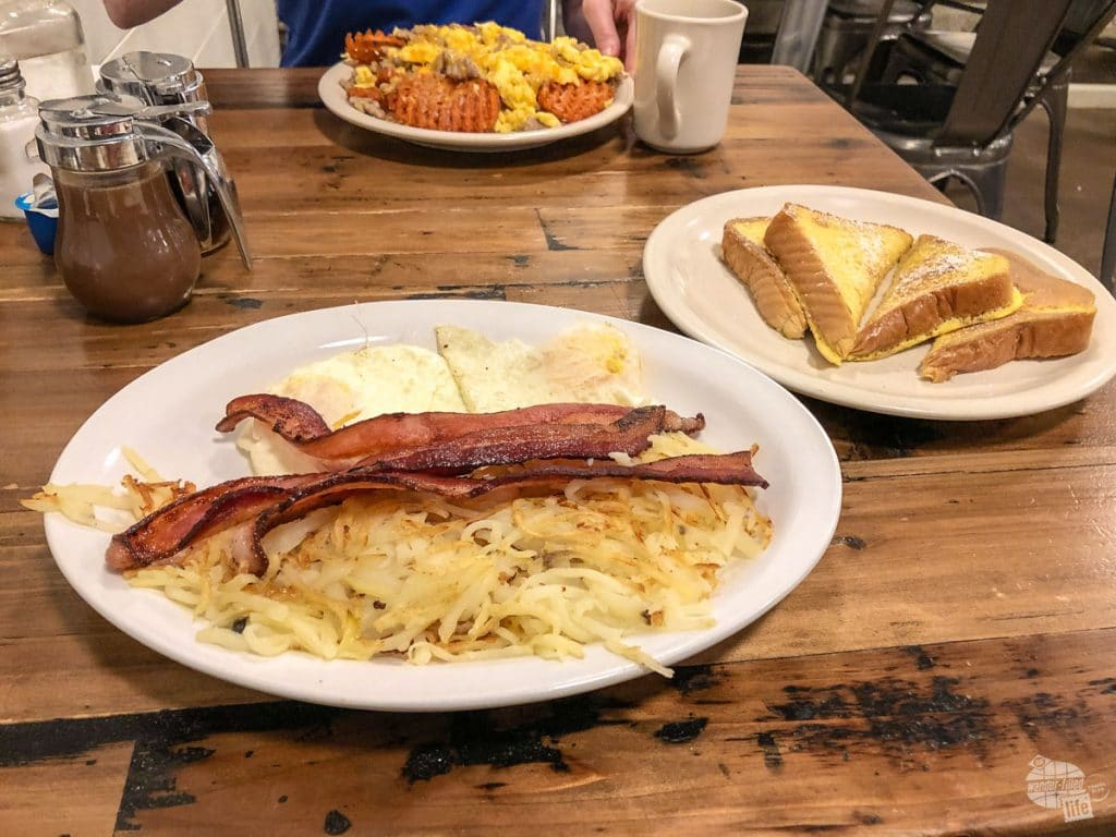 The Farmhouse Cafe is one of several great places to eat in Medora.