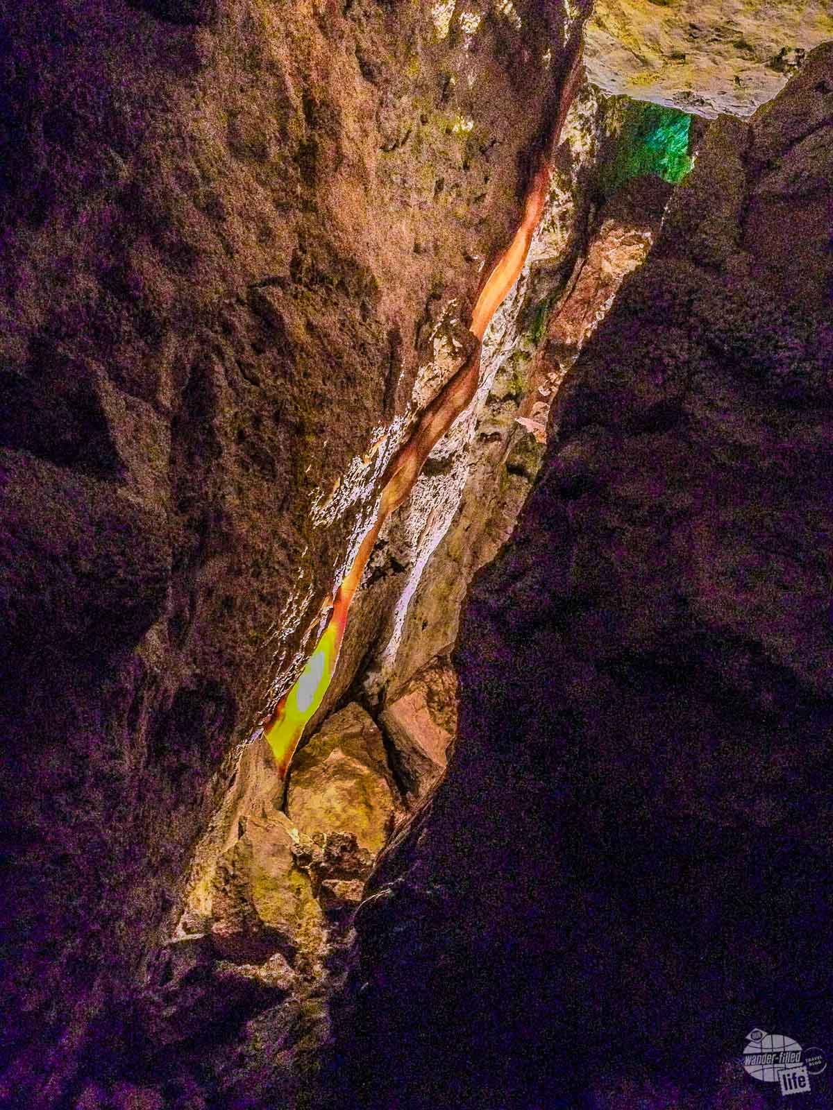 Cave Bacon in Jewel Cave National Monument.