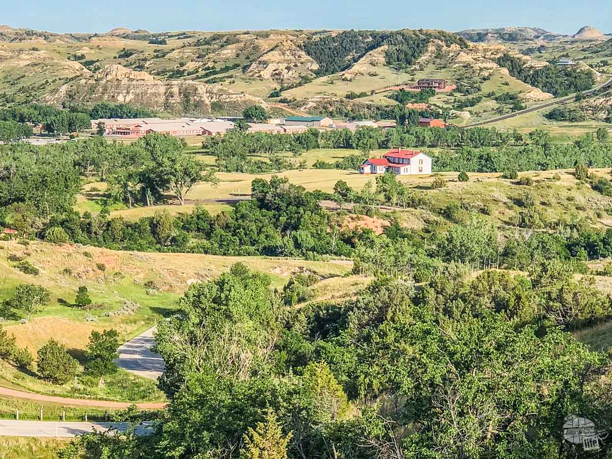 The Chateau de Mores State Historic Site preserves some of the history of Medora.