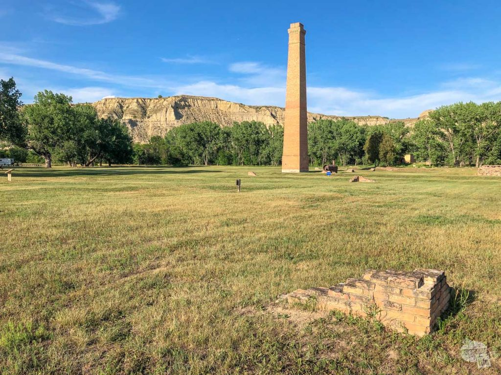 Chimney Park is a must visit park in Medora.
