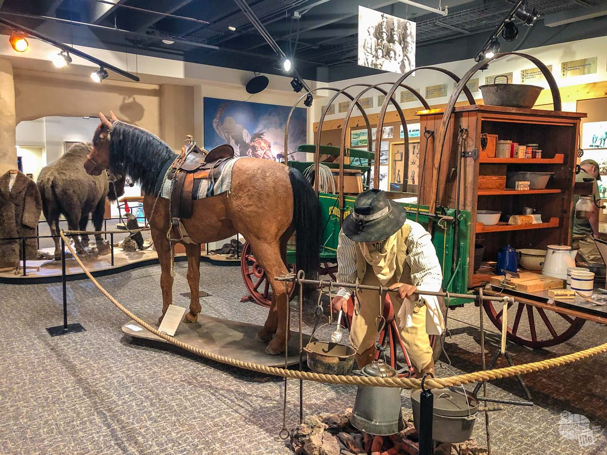 The North Dakota Cowboy Hall of Fame is one of many things to do in Medora.