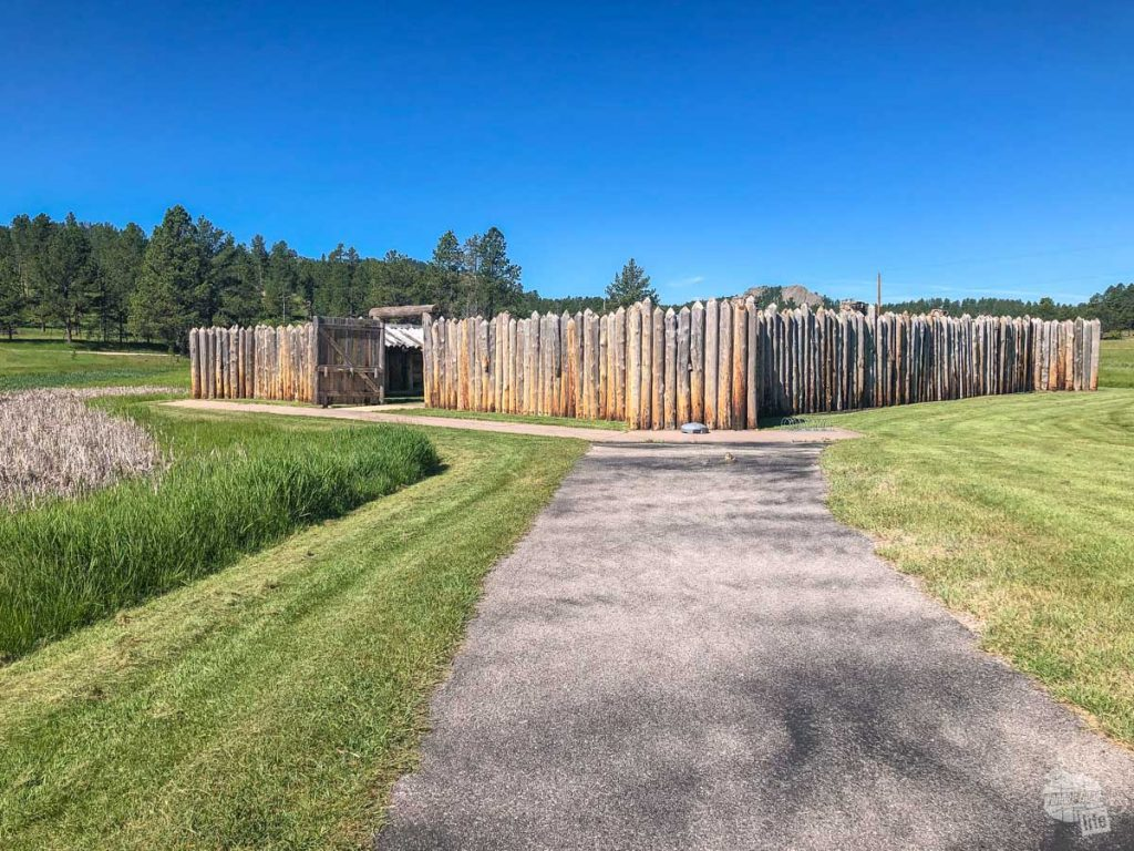 A quick visit to the Gordon Stockade Historical Site offers a glimpse into the history of the area.