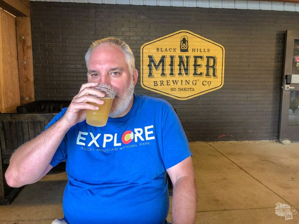 Miner Brewing is a great brewery in the Black Hills.