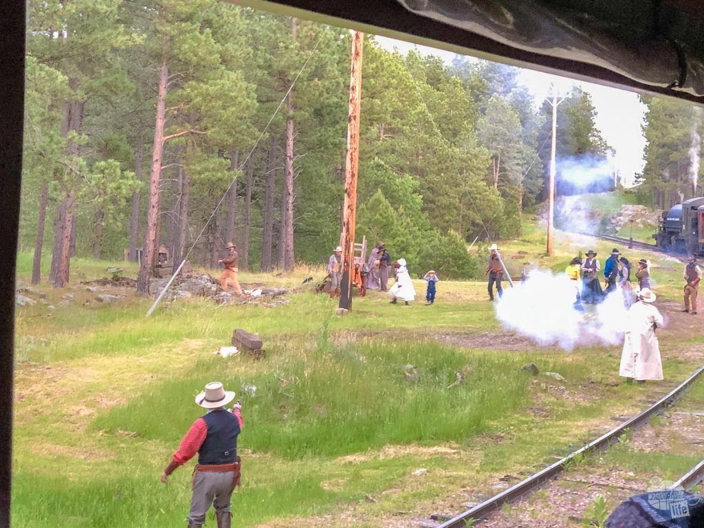The 1880 train is a great attraction in the Black Hills.