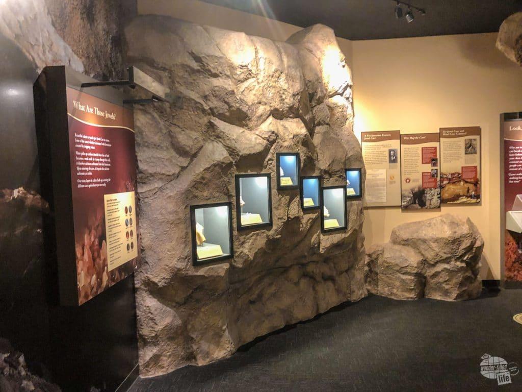 Jewel Cave exhibit