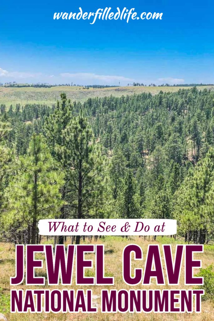 While often overlooked, Jewel Cave National Monument is a the third-largest cave system in the world and has plenty of gorgeous views inside and out.