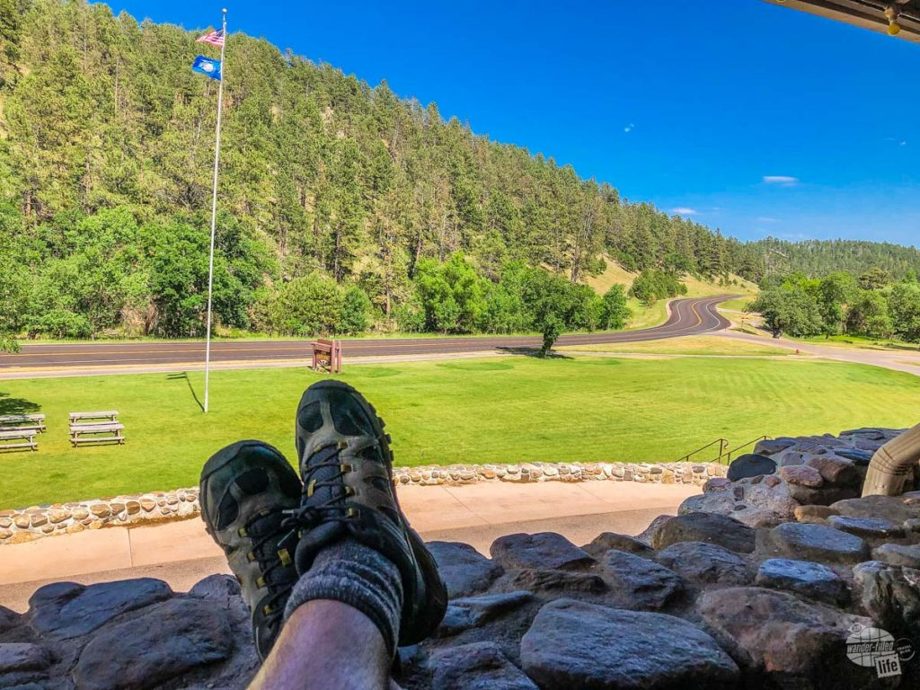 There are many lodges and campgrounds inside Custer State Park.