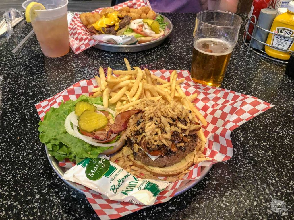 The Knuckle Saloon in Sturgis is a laid back restaurant in the Black Hills.