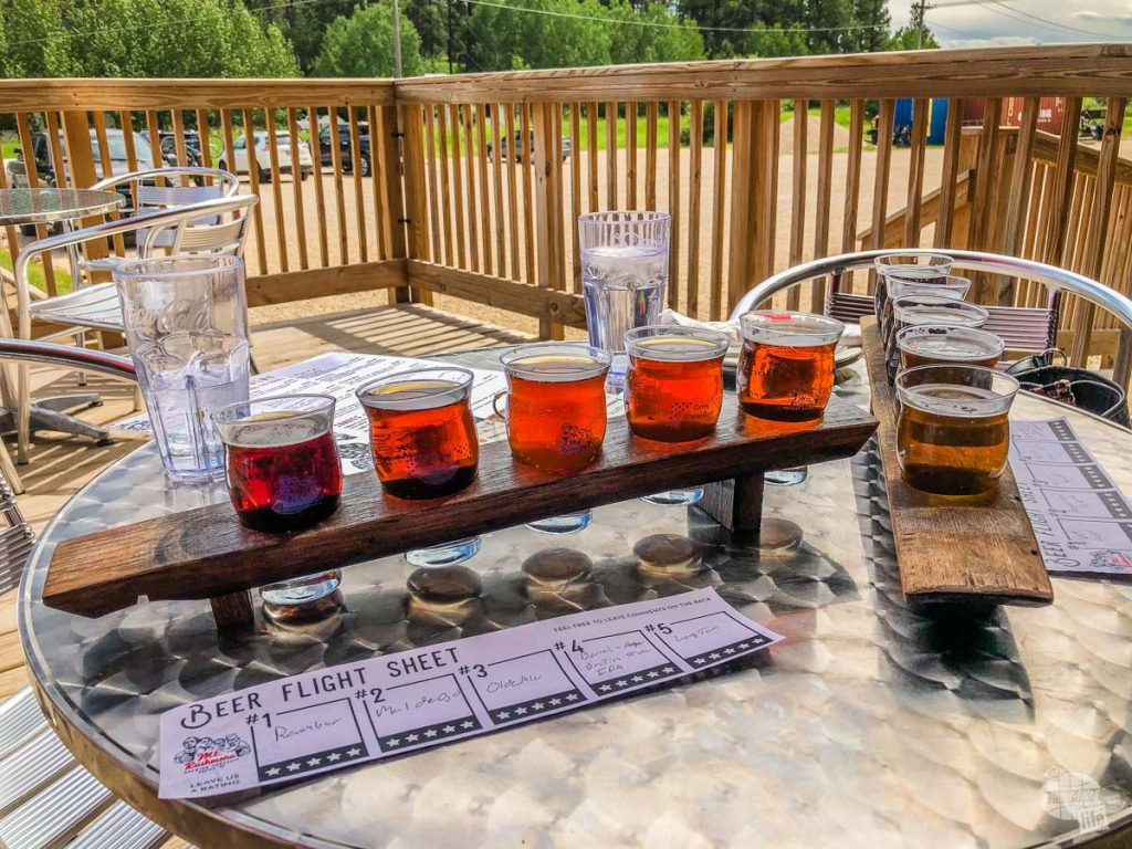 There are many great breweries and wineries near Custer State Park.