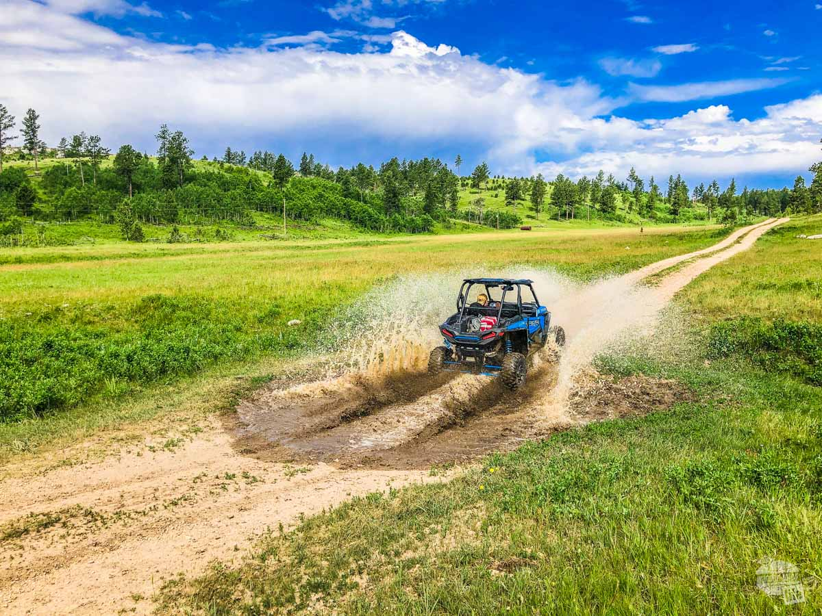 Renting an ATV is a fun thing to do in the Black Hills.