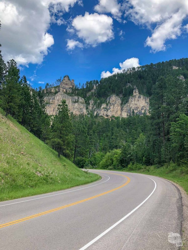 The drive through Spearfish Canyon is one of our top things to do in the Black Hills.