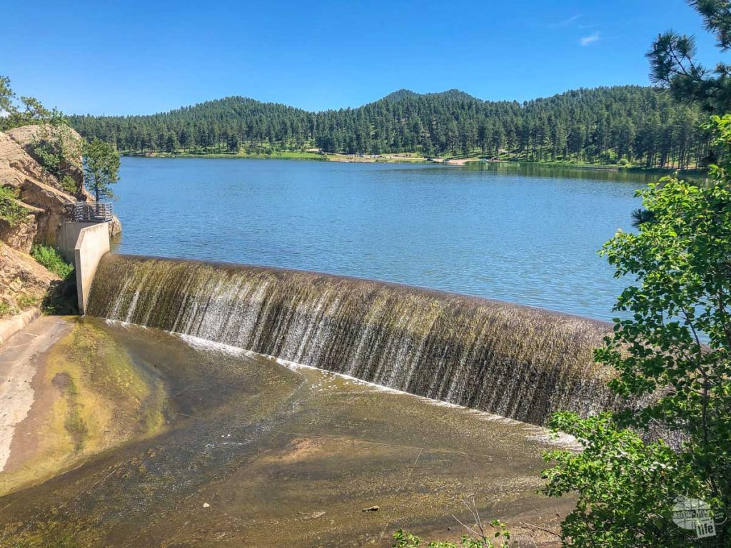 A stop at one of several lakes is one of the most relaxing things to do in Custer State Park.