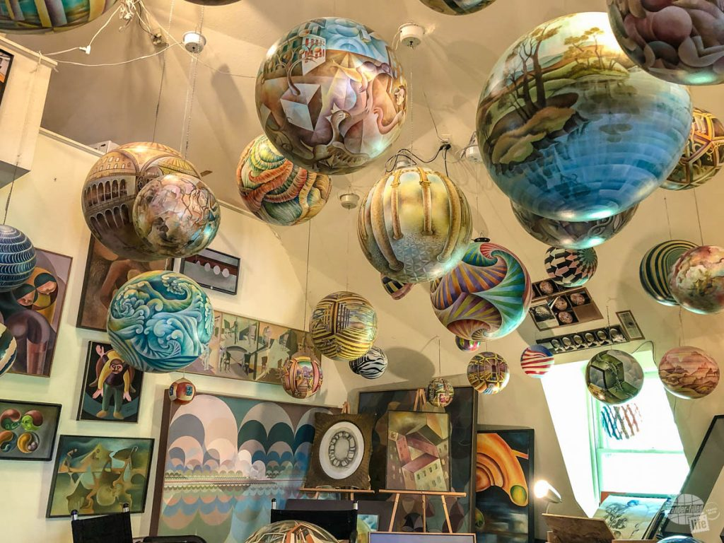 The Termesphere Gallery is well worth a visit in the Black Hills.