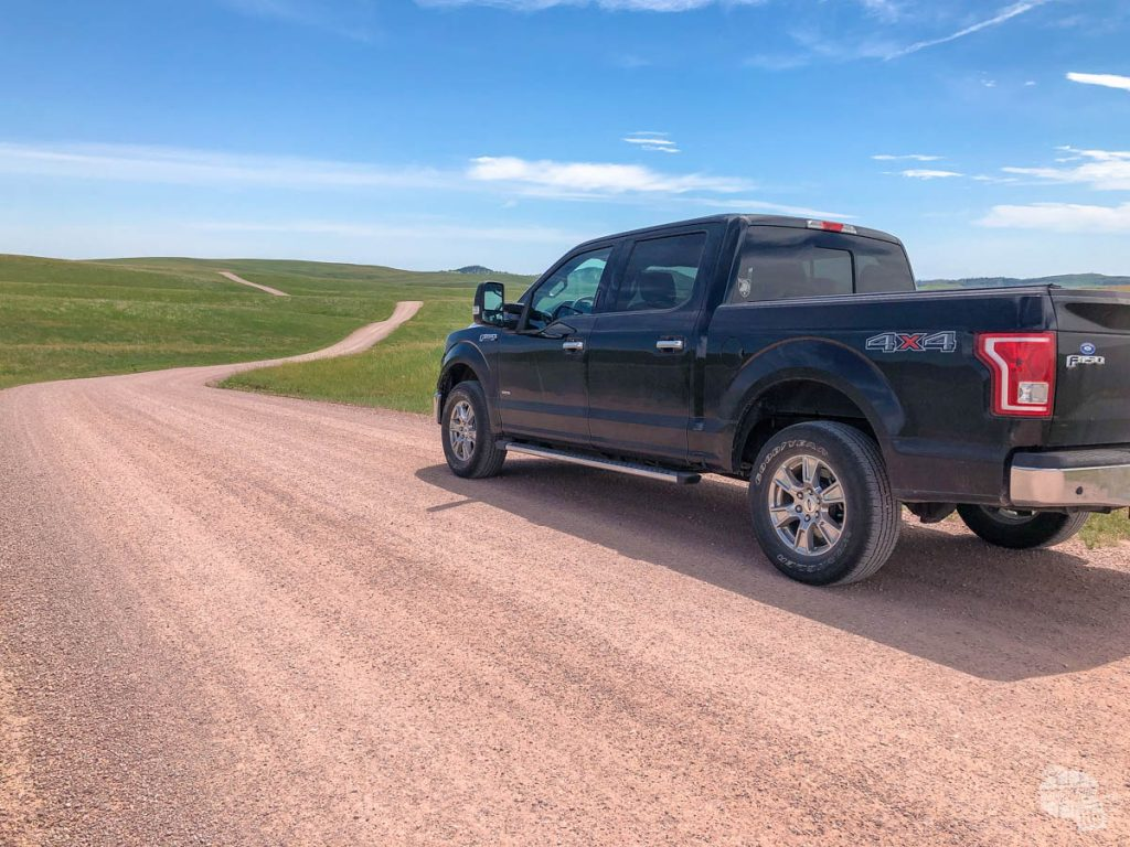 You can drive most of the dirt roads in Custer SP.