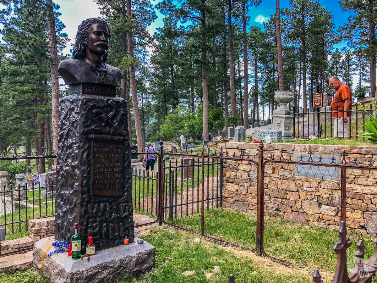 A visit to historic Deadwood is a great stop near Mount Rushmore.
