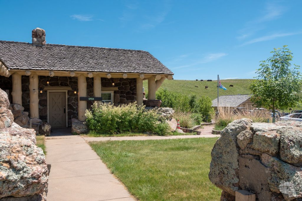 The Wildlife Station Visitor Center in Custer State Park.