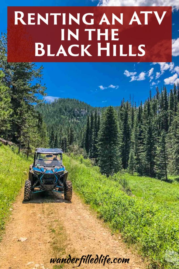 Our guide to renting an ATV in the Black Hills. If you're looking for remote, unspoiled beauty, an ATV adventure is just what you need.