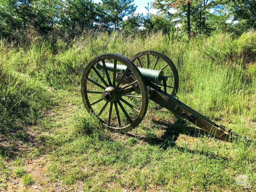 "Cumberland Gap National Historical Park is home to several ""forts,"" most of which are not much more than earthen artillery emplacements to control the road."