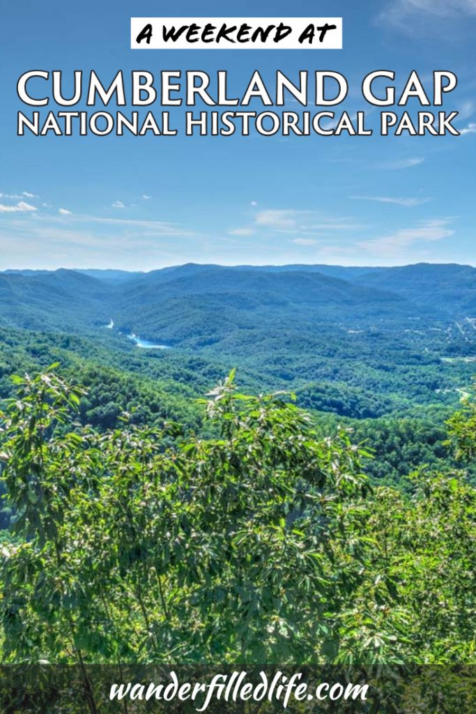 Cumberland Gap National Historical Park is an important spot in terms of early westward expansion and a great place for a weekend getaway.