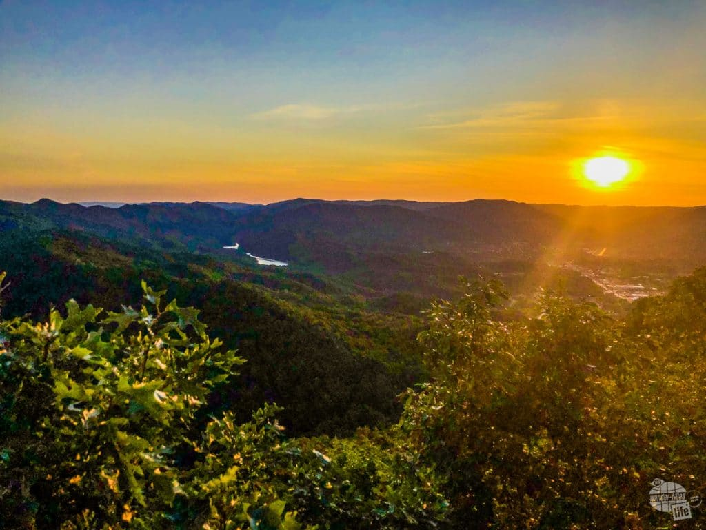 Sunset at Cumberland Gap