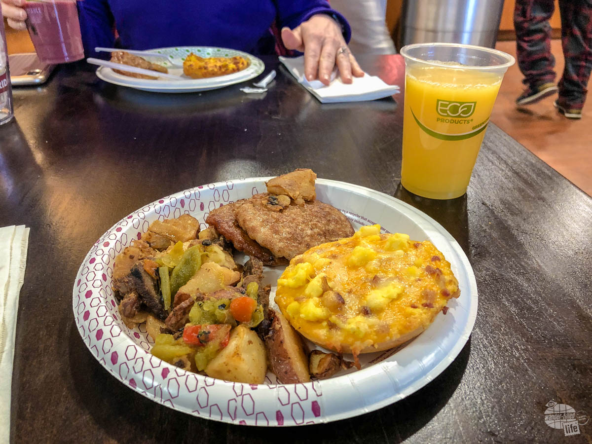 We miss the traditional hotel breakfast on road trips during the pandemic.