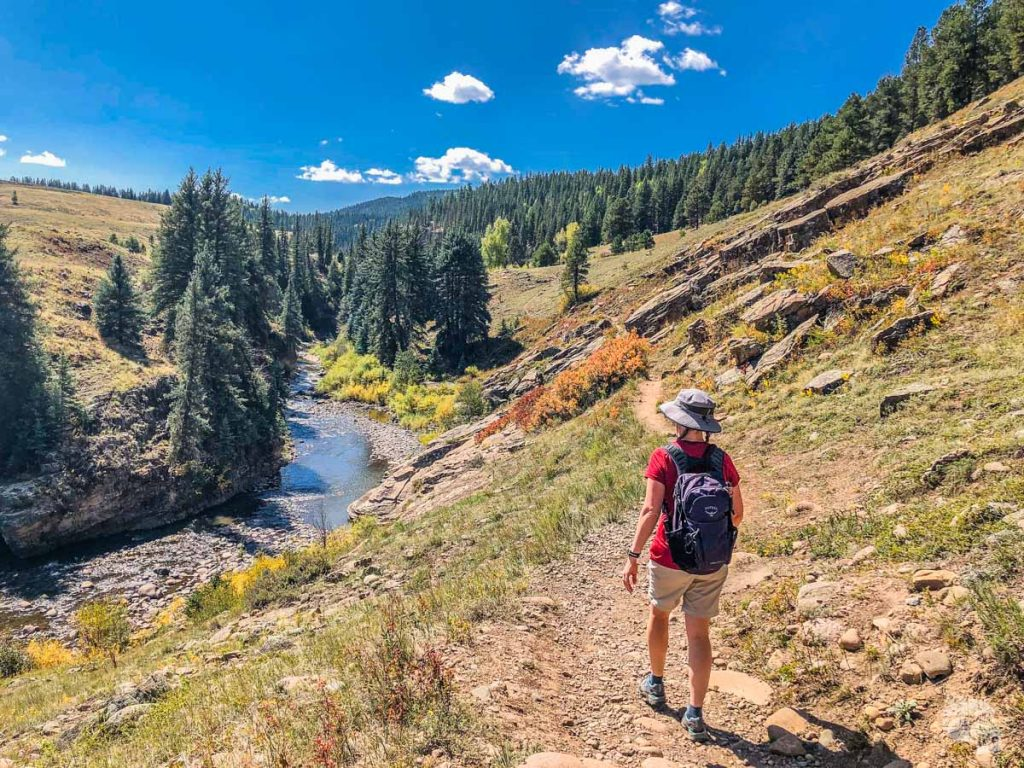 A hike on the Piedra River Trail is one of our favorite things to do in Pagosa Springs.