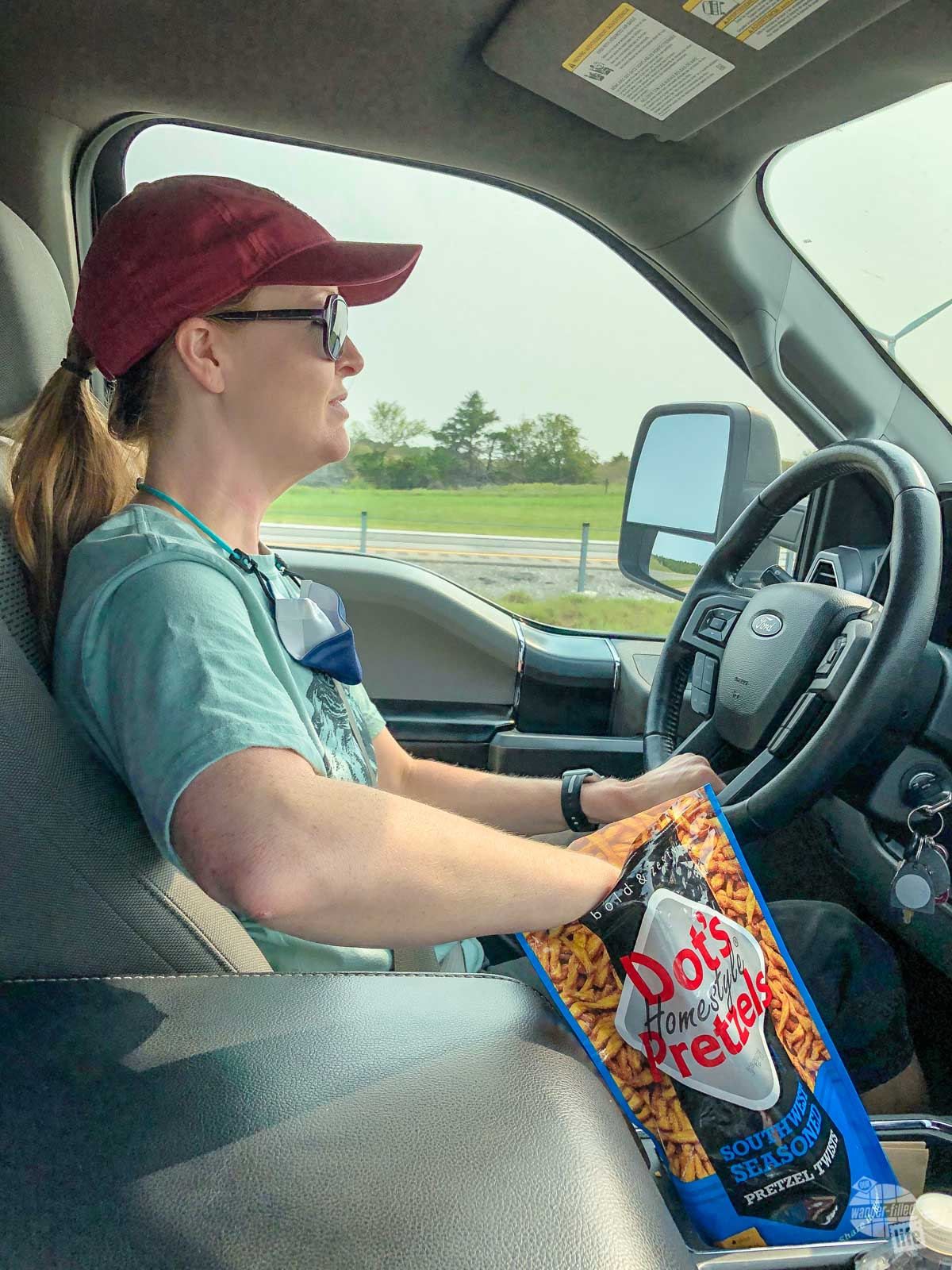 One of our recent discoveries on the road is Dot's Homestyle Pretzels out of North Dakota. We particularly enjoy the Southwest Seasoned but the Original recipe are great, too.