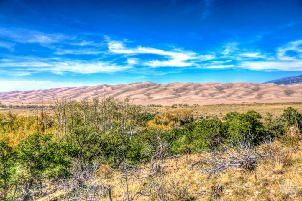Great Sand Dunes National Park is about two hours east of Pagosa Springs.