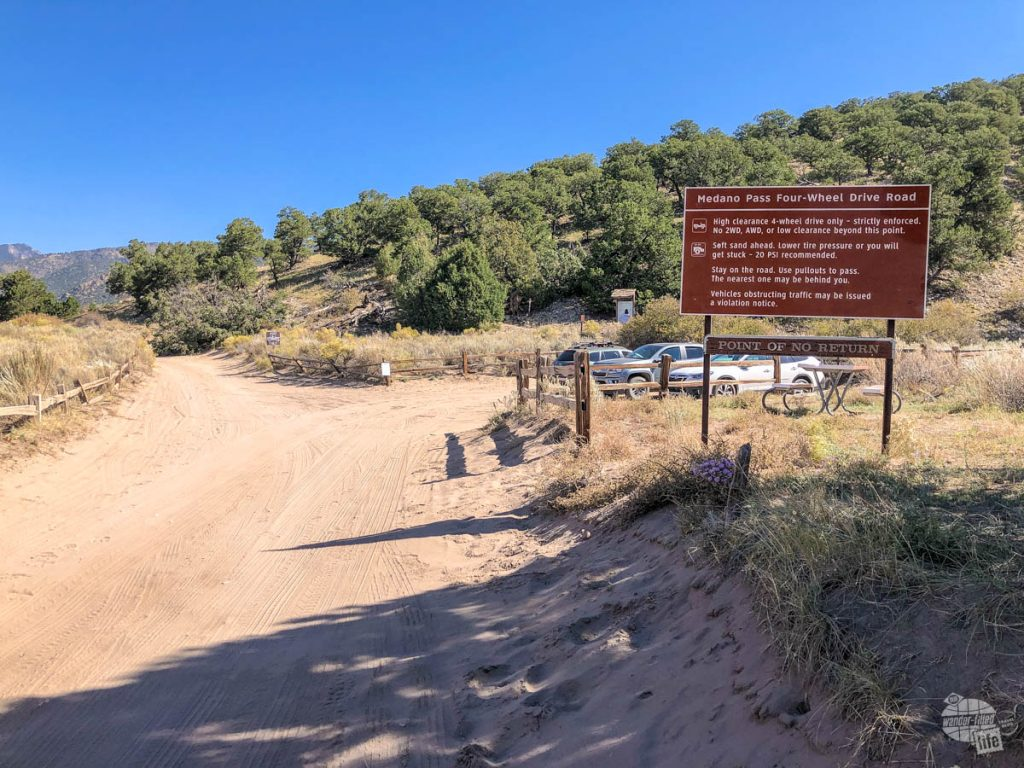 The Medano Pass Four-Wheel Drive Road has some pretty stringent requirements.