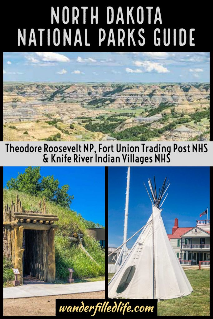 Our guide to visiting the three North Dakota national parks sites. Learn about tribal history and enjoy the rugged beauty of the state!