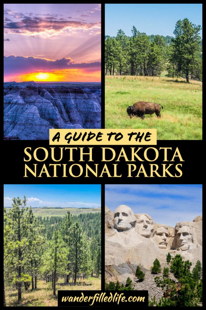 Our guide to the South Dakota National Parks, where you'll find scenic landscapes, wildlife viewing, historical sites and much more.