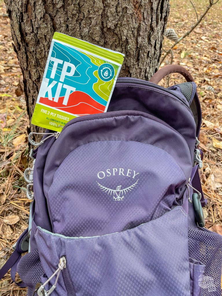 TP Kits make great holiday gifts for travelers and hikers.