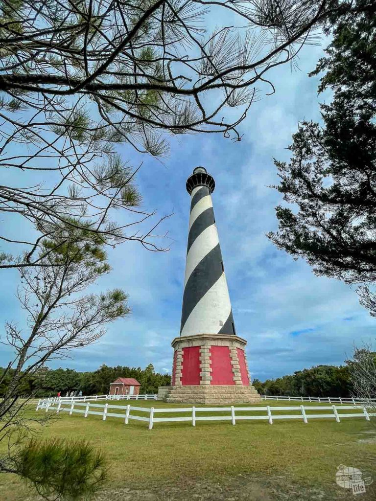 The namesake Cape Hatteras Lighthouse is a must-see on an Outer Banks national parks trip.