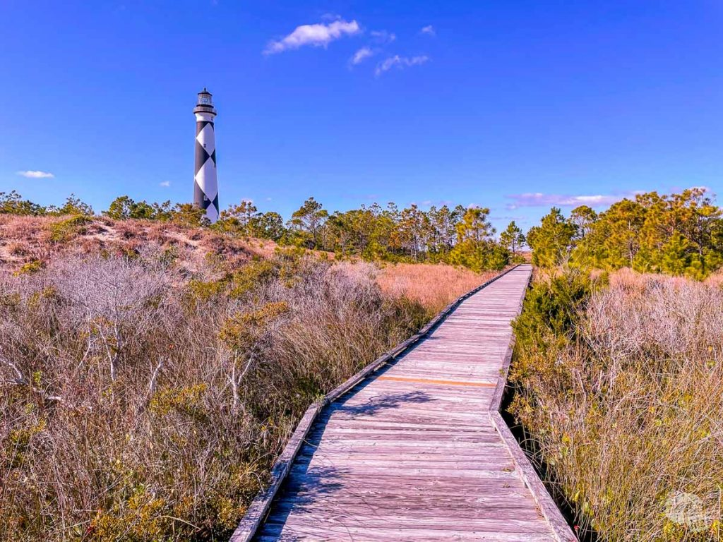 The Cape Lookout Light