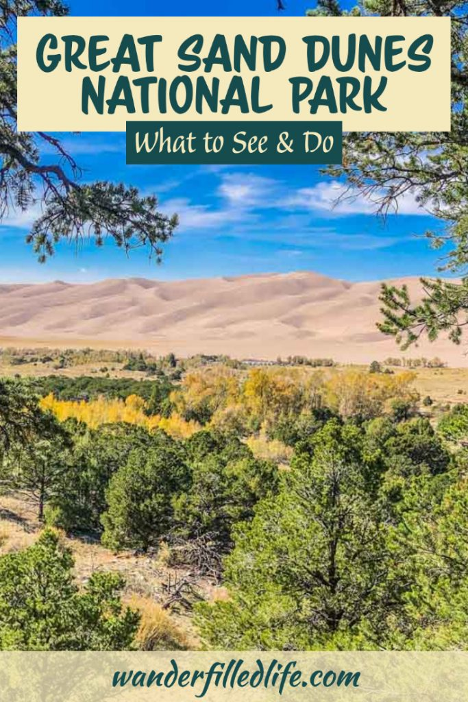 Great Sand Dunes National Park and Preserve offers great hiking, outstanding views plus the adventure of the Medano Pass Primitive Road.