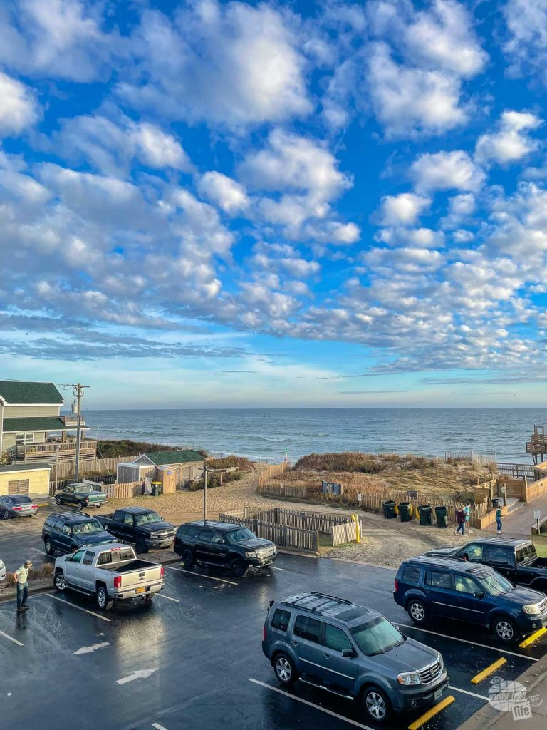 A hotel on the beach is a must when visiting the Outer Banks national parks.