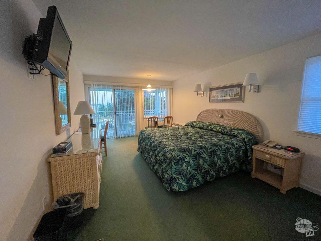 Our room at the Ocracoke Harbor Inn