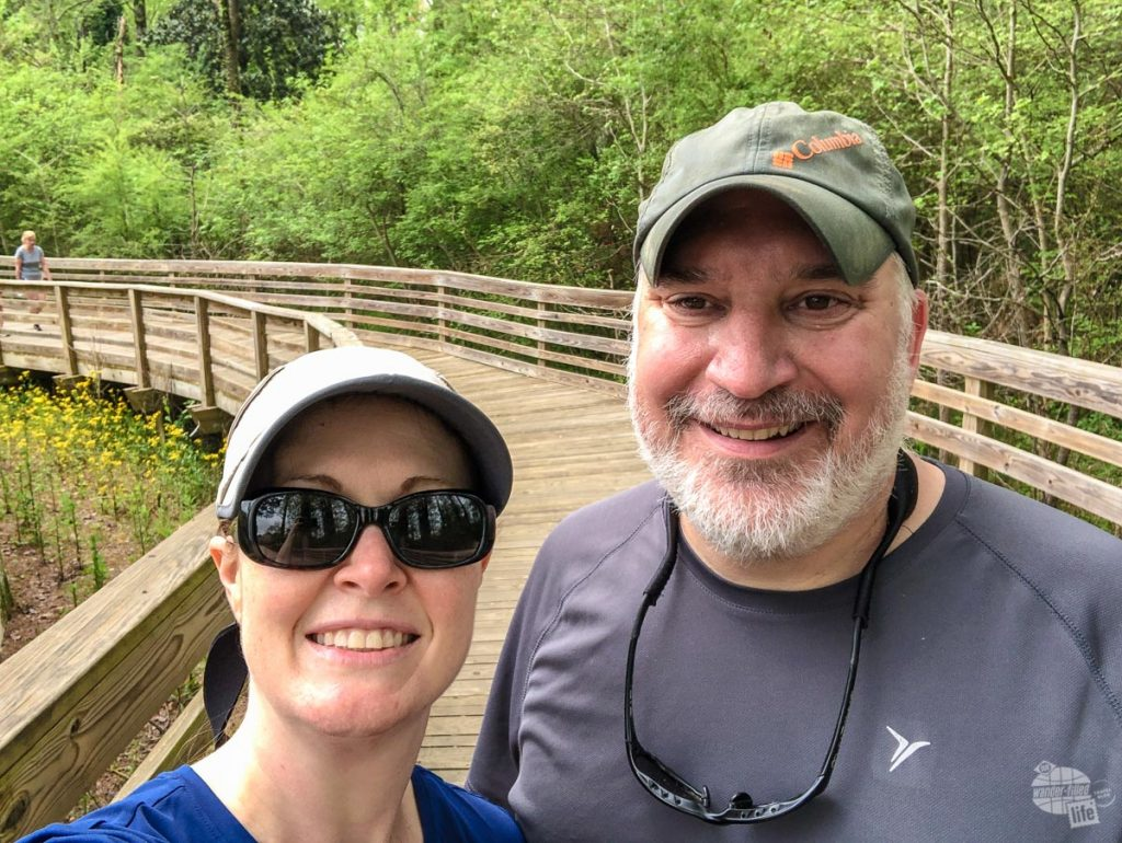 When we couldn't travel in 2020 we enjoyed walks on our local trails.