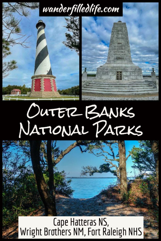Brush up on history and relax on the beach with a visit to the three Outer Banks national parks on the coast of North Carolina.