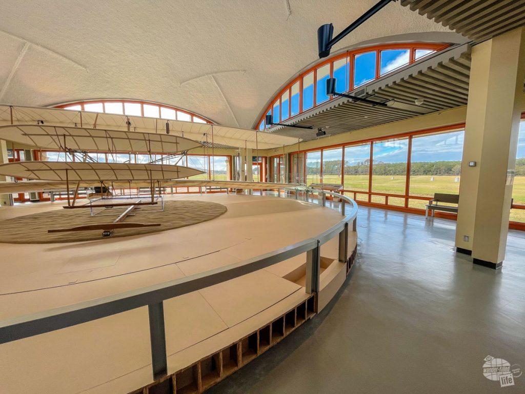 The Wright Brothers National Memorial is a short history lesson on your Outer Banks national parks trip.