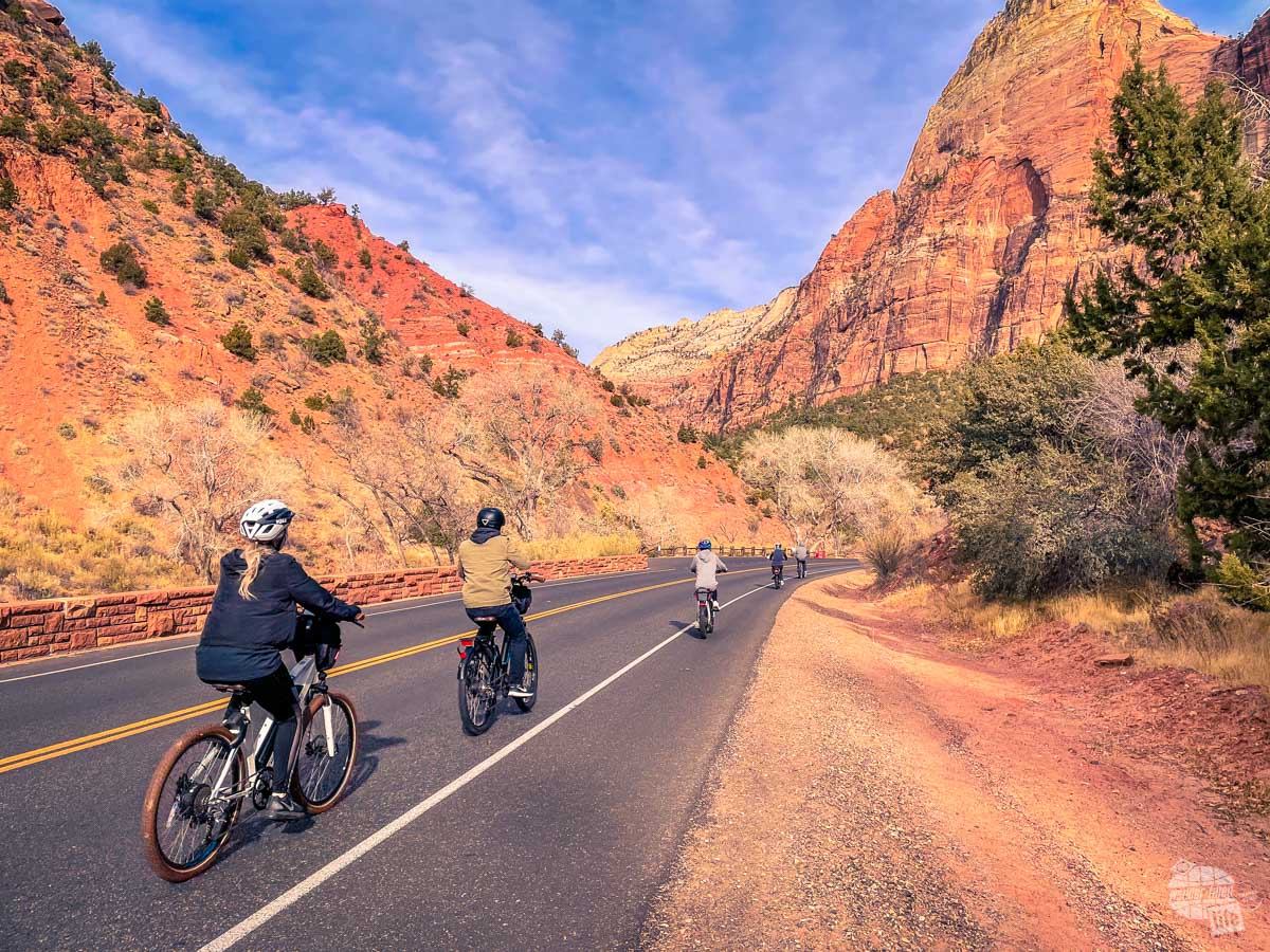 Bicycles are a great way to get around Zion National Park.